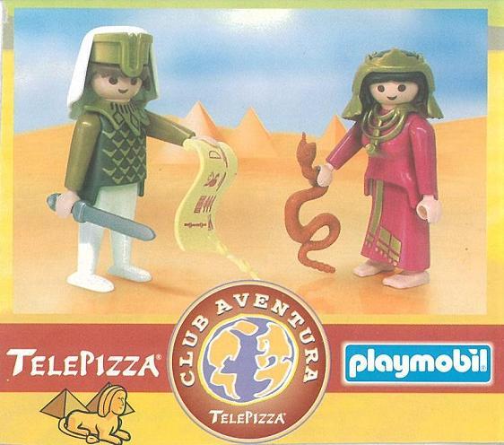Playmobil 0000v8-esp - Telepizza Give-away Egyptians - Box
