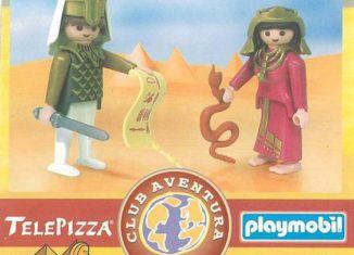 Playmobil - 0000v8-esp - Telepizza Give-away Egyptians