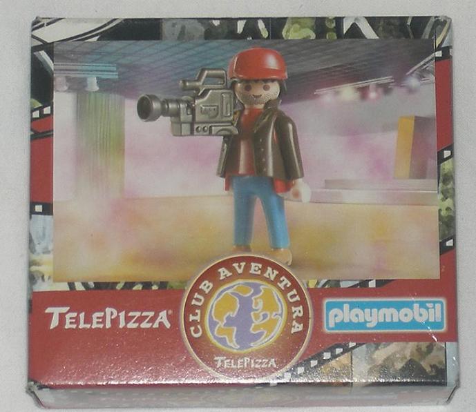 Playmobil 0000v12-esp - Telepizza Give-away Reporter - Box