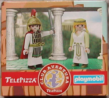 Playmobil 0000-esp - Telepizza Give-away Romans - Box