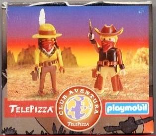 Playmobil 0000v5-esp - Telepizza Give-away Cowboys - Box