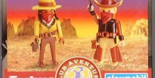 Playmobil - 0000v5-esp - Telepizza Give-away Cowboys