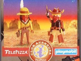 Playmobil - 0000v5-esp - Telepizza Give-away Cowboys