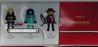 Playmobil - 0000 - Max, Bob & Fred - LDCom Networks