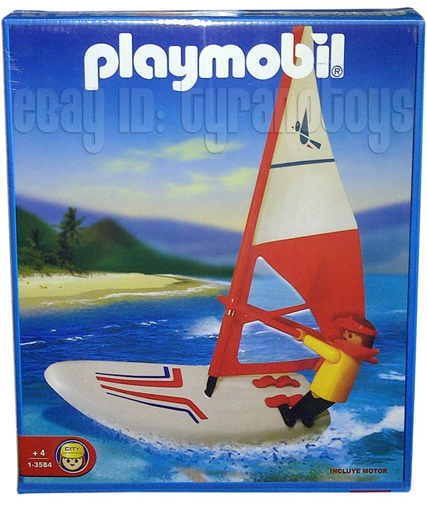 Playmobil 1-3584-ant - Surfer - Box