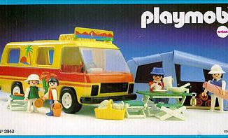 Playmobil - 3942-ant - Camping Set