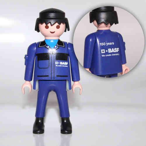 Playmobil 30828933-ger - BASF Maintenance Worker 150 años - Back