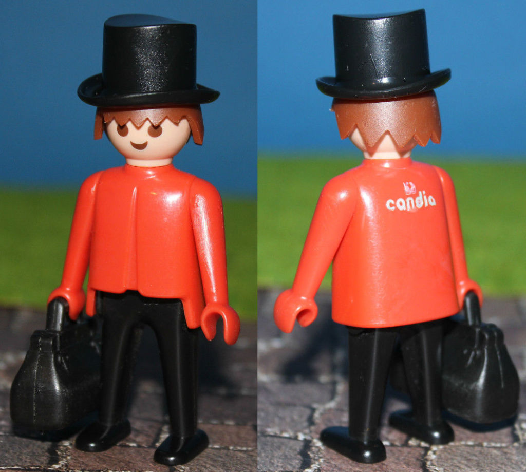 "Playmobil 0000 - ""Candia"" Red Traveller - Box"