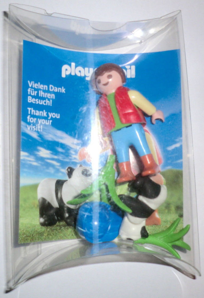 Playmobil 0000-ger - Nüremberg Toy Fair Give-away Child with Panda - Box