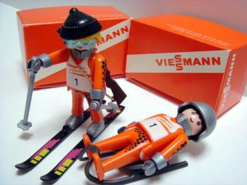 Playmobil 0000-ger - Viessmann Biathlete - Back