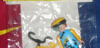 Playmobil - 0000v3 -  Cyclist boy - Simon 27