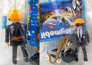 Playmobil 0000v2 -  Saxophone Player - Coolee - Box