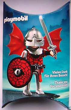 Playmobil 0000-ger - Nüremberg Toy Fair Give-Away Red Dragon Knight - Box