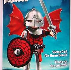 Playmobil - 0000-ger - Nüremberg Toy Fair Give-Away Red Dragon Knight