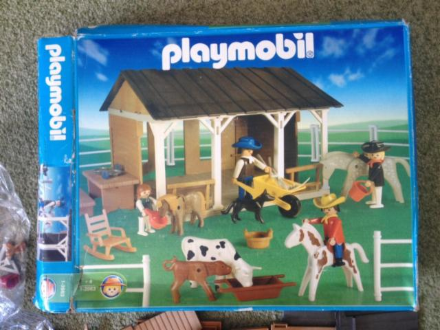 Playmobil 1-3963-ant - Farm Barn - Box