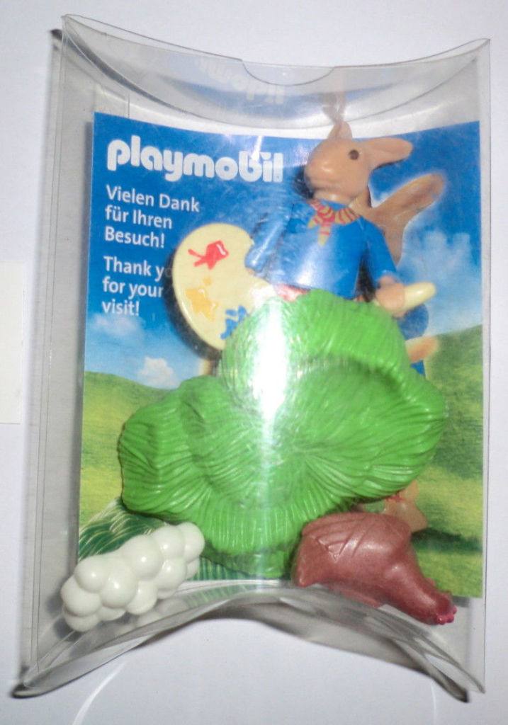 Playmobil 30897912-ger - Nüremberg Toy Fair Give-away Easter Bunny - Box