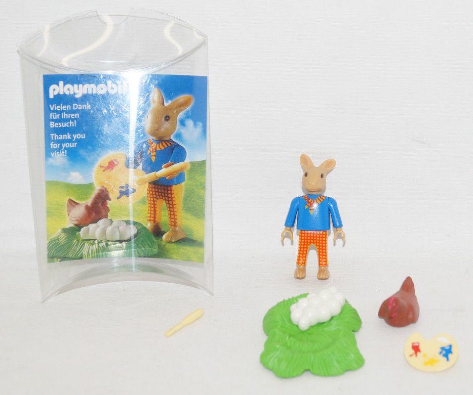 Playmobil 30897912-ger - Nüremberg Toy Fair Give-away Easter Bunny - Back