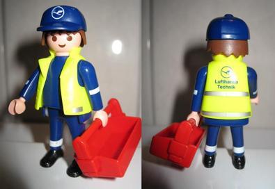 Playmobil 30882202-ger - Lufthansa Technician - Back