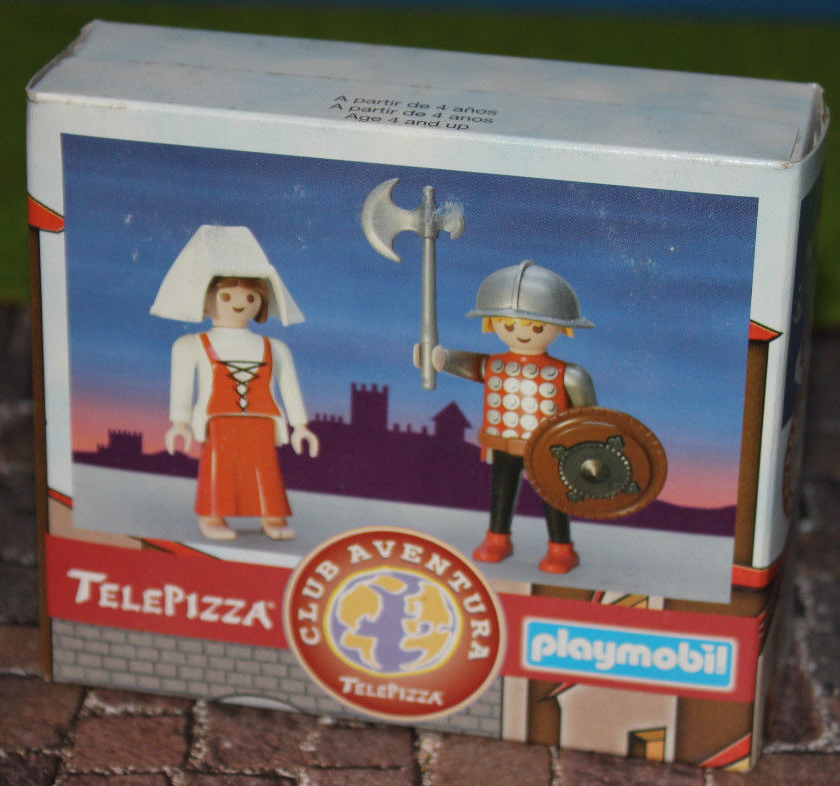 Playmobil 0000v9-esp - Telepizza Give-away Medieval - Box