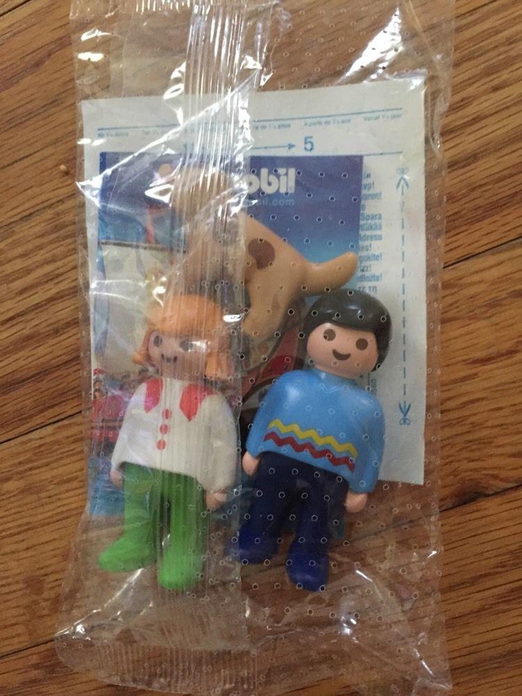 Playmobil 0000-usa - New York Toy Fair Mom, Dad & Dog - Caja
