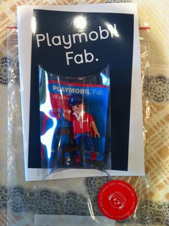 Playmobil 30803533 - Playmobil Fab. - Mudac Museum Promo - Box