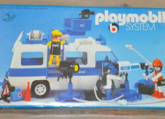 Playmobil - 3188s1v1 - Television International van