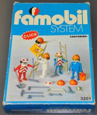 Playmobil 3201-fam - 5 Obreros - Box
