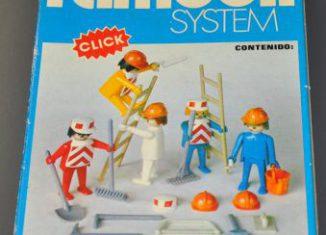 Playmobil - 3201-fam - 5 Obreros