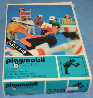 Playmobil 3201s1v1 - Construction Set - Box