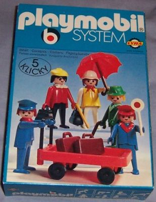 Playmobil 3271-lyr - Travellers - Box