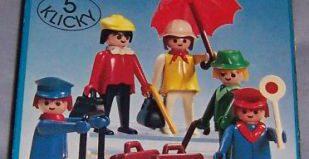 Playmobil - 3271-lyr - Set Voyageurs