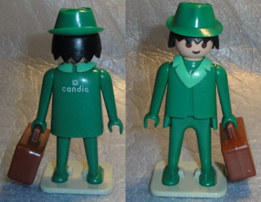 "Playmobil 0000v1 - ""Candia"" Green Traveller - Box"