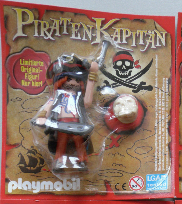 Playmobil 30795932-ger - Pirate Captain - Box