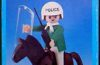 Playmobil - 1L10-lyr - Policeman with Horse