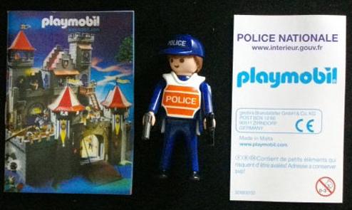 Playmobil 0000 - French National Policeman - Box