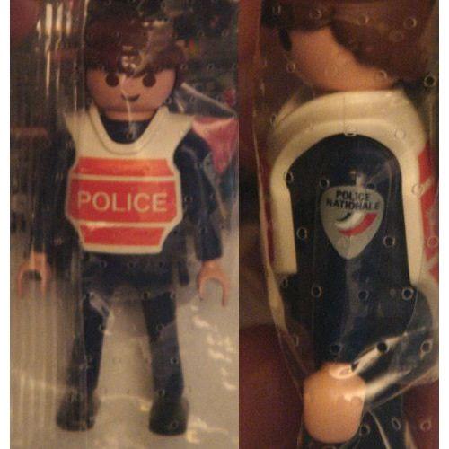 Playmobil 0000 - French National Policeman - Back