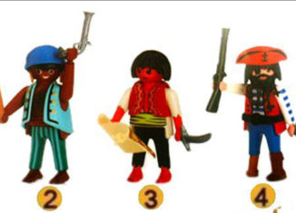 Playmobil - 0000 - Quick Magic Box Pirate Set