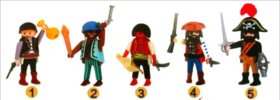 Playmobil 0000 - Quick Magic Box Pirate Set - Box