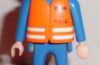 Playmobil - 0000v2-esp - ONO Technician - Orange Jacket