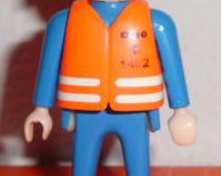 Playmobil - 0000v2-esp - ONO Technician - Orange Jacket