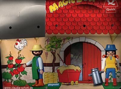 Playmobil 0000 - Quick Magic Box Give-away Farm - Back
