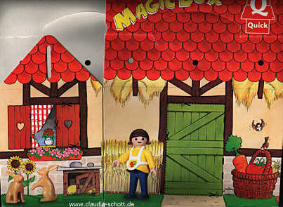 Playmobil 0000 - Quick Magic Box Give-away Farm - Box