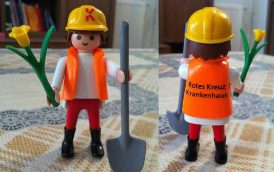 Playmobil 0000-ger - RKK Construction Worker - Back
