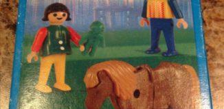 Playmobil - 1-9613-ant - Children with Pony