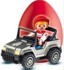Playmobil - 4918v1 - Red Egg Boy with GoKart