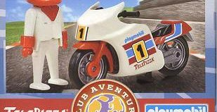 Playmobil - 0000v10-esp - Telepizza Racing Bike