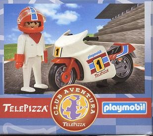 Playmobil 0000v10-esp - Telepizza Racing Bike - Box