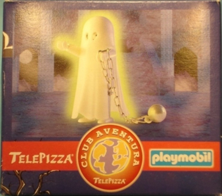 Playmobil 0000v11-esp - Telepizza Give-away Ghost - Box