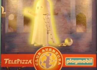 Playmobil - 0000v11-esp - Telepizza Give-away Ghost