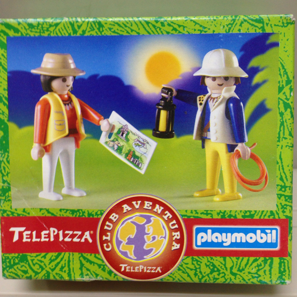 Playmobil 0000v3-esp - Telepizza Give-away Explorers - Box